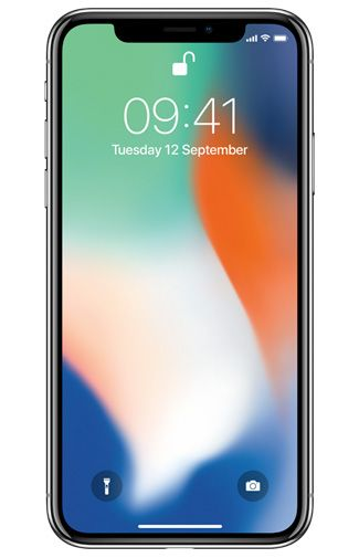 Productafbeelding van de Apple iPhone X 256GB Silver