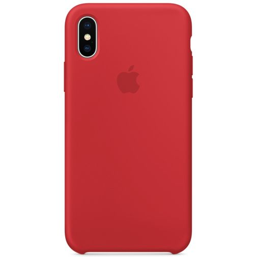 Apple Silicone Case Red iPhone X
