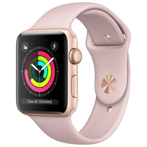 Apple Watch Series 3 Sport 38mm Gold Aluminium (Rose Gold Strap)