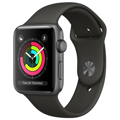 Apple Watch Series 3 Sport 42mm Grey Aluminium (Grey Strap)