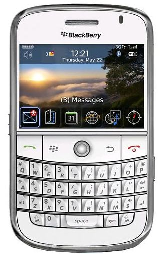 Productafbeelding BlackBerry Bold 9000 White