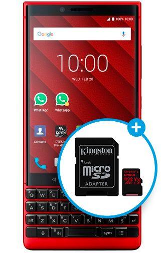 Productafbeelding van de BlackBerry KEY2 Dual Sim
