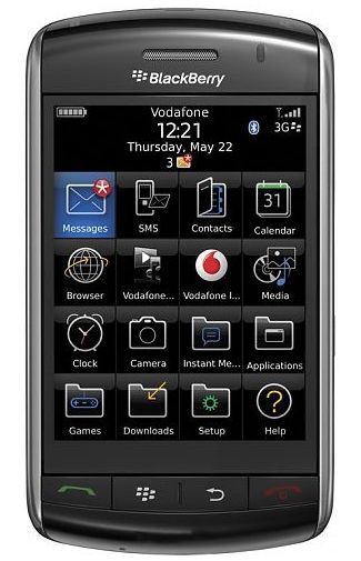 BlackBerry Storm 9500 Black