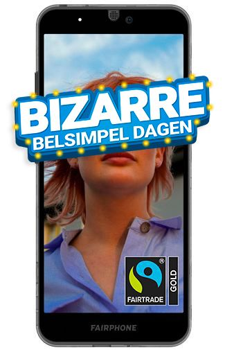 Productafbeelding van de Fairphone 3 Black