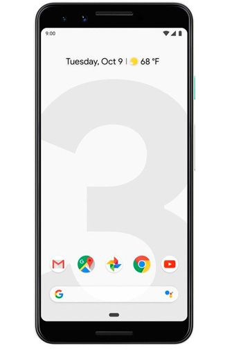 Productafbeelding van de Google Pixel 3 64GB White