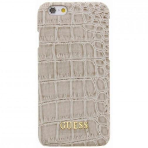 Guess Croco Hard Case Shiny Beige Apple iPhone 6/6S