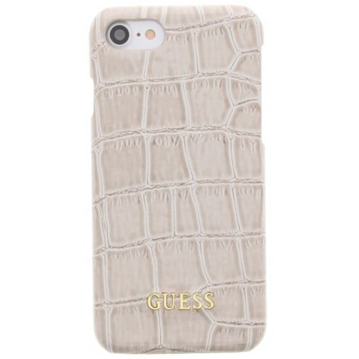 Guess Croco Hard Case Shiny Beige Apple iPhone 7/8