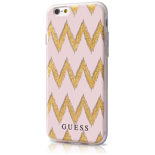 Guess TPU Case Chevron Beige Apple iPhone 6/6S