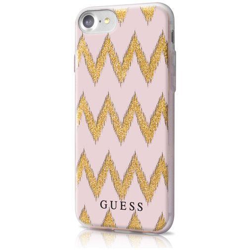 Guess TPU Case Chevron Beige Apple iPhone 7/8