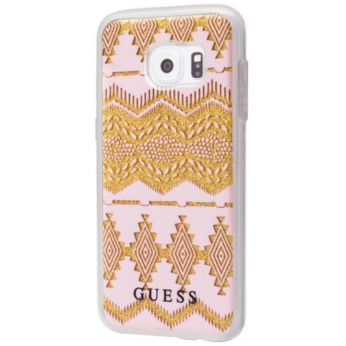 Guess TPU Case Tribal Beige Samsung Galaxy S7