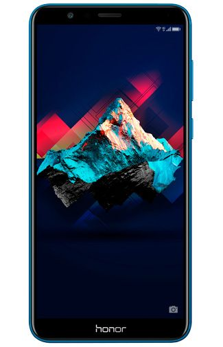 Productafbeelding van de Honor 7X Blue