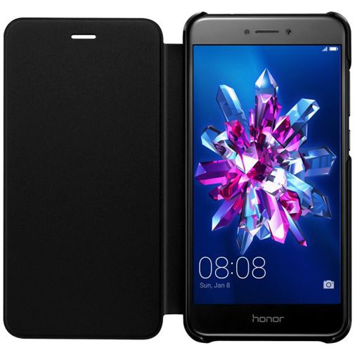 Honor Flip Cover Black Honor 8 Lite