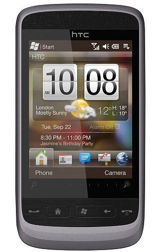 HTC Touch 2 Gloss Silver NL