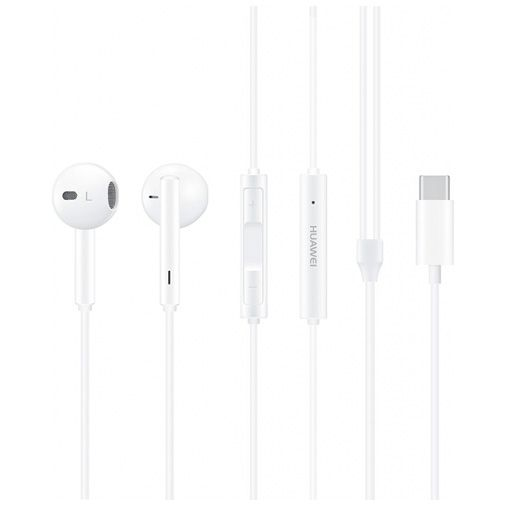 Productafbeelding van de Huawei In-Ear Headset USB-C CM33 White