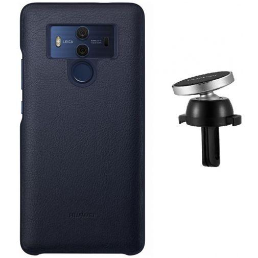 Huawei Mate 10 Pro Magnetische Autohouder + Case Blue