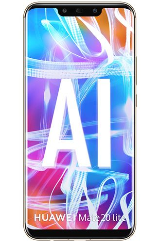 Huawei Mate 20 Lite Dual Sim Gold