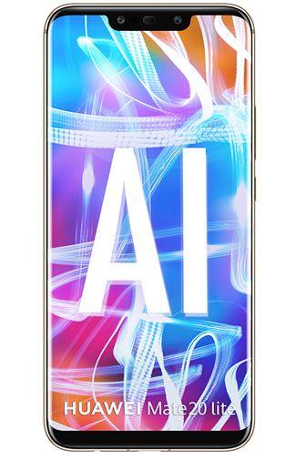 Productafbeelding van de Huawei Mate 20 Lite Single Sim Gold