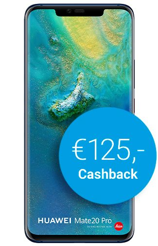 Productafbeelding van de Huawei Mate 20 Pro Blue