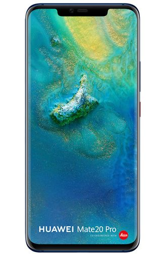 Productafbeelding van de Huawei Mate 20 Pro Single Sim Blue