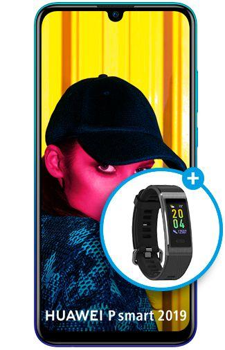 Productafbeelding van de Huawei P Smart 2019 Blue
