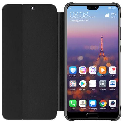 Huawei View Flip Cover Black Huawei P20