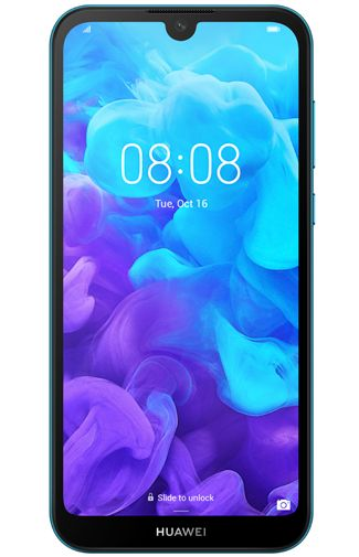 Productafbeelding van de Huawei Y5 2019 Blue