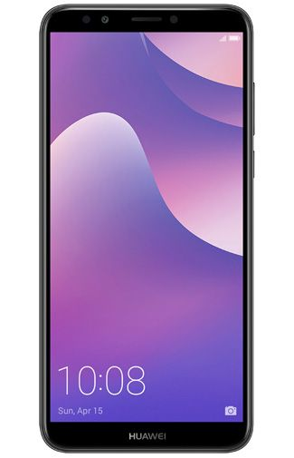 Productafbeelding van de Huawei Y7 (2018) Black