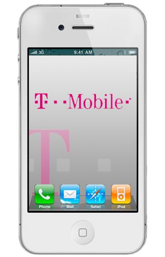 Productafbeelding Apple iPhone 4 16GB White T-Mobile