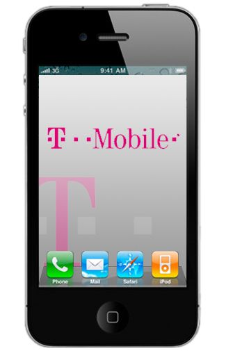 Productafbeelding Apple iPhone 4 32GB Black T-Mobile