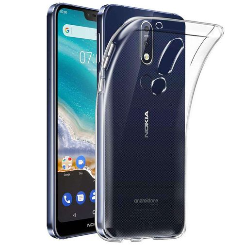 Productafbeelding van de Just in Case Soft TPU Case Clear Nokia 7.1