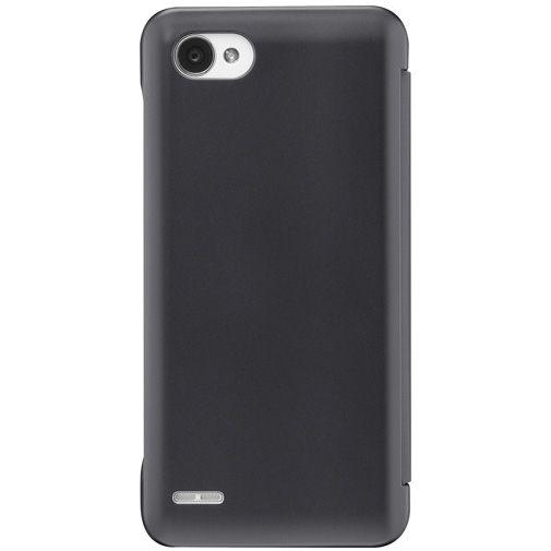 LG CleanUP Quick View Cover Black LG Q6 (Alpha)