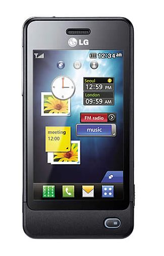 LG POP GD510 Black