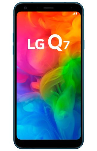 Productafbeelding van de LG Q7 Blue