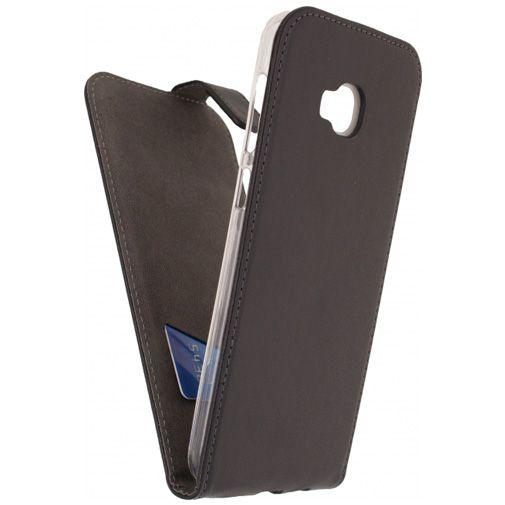 Mobilize Classic Gelly Flip Case Black Asus Zenfone 4 Selfie Pro