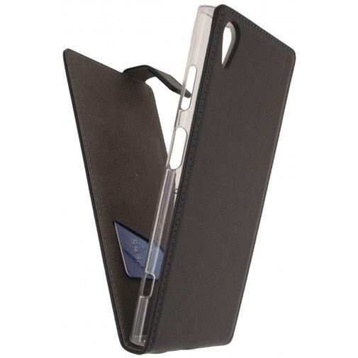 Mobilize Classic Gelly Flip Case Black Sony Xperia XA1 Plus