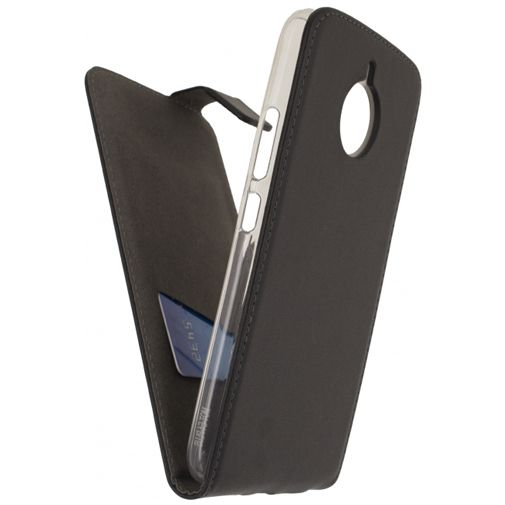 Mobilize Classic Gelly Flip Case Black Motorola Moto E4 Plus