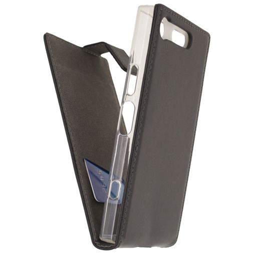Mobilize Classic Gelly Flip Case Black Sony Xperia XZ1 Compact