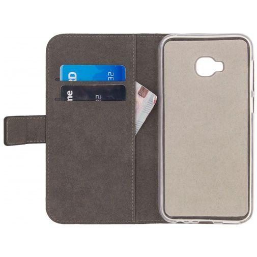 Mobilize Classic Gelly Wallet Book Case Black Asus Zenfone 4 Selfie Pro