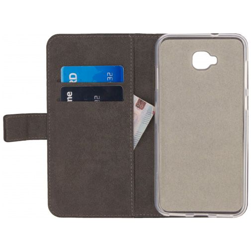 Mobilize Classic Gelly Wallet Book Case Black Asus Zenfone 4 Selfie