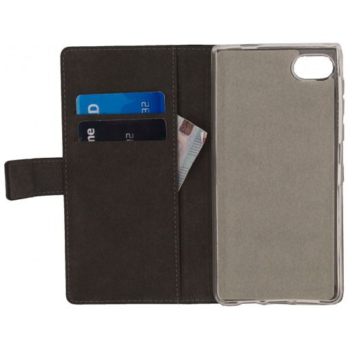 Mobilize Classic Gelly Wallet Book Case Black BlackBerry Motion