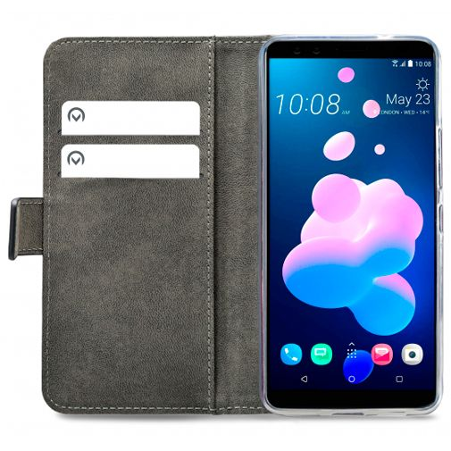 Mobilize Classic Gelly Wallet Book Case Black HTC U12+