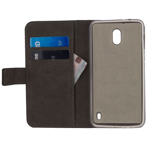 Mobilize Classic Gelly Wallet Book Case Black Nokia 2