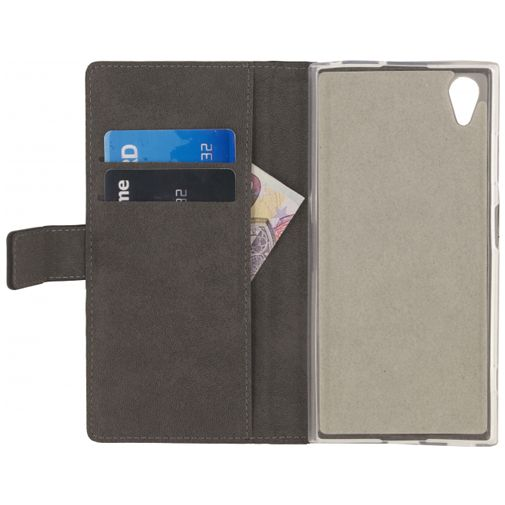 Mobilize Classic Gelly Wallet Book Case Black Sony Xperia XA1 Plus