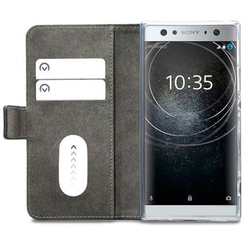 Mobilize Classic Gelly Wallet Book Case Black Sony Xperia XA2 Ultra