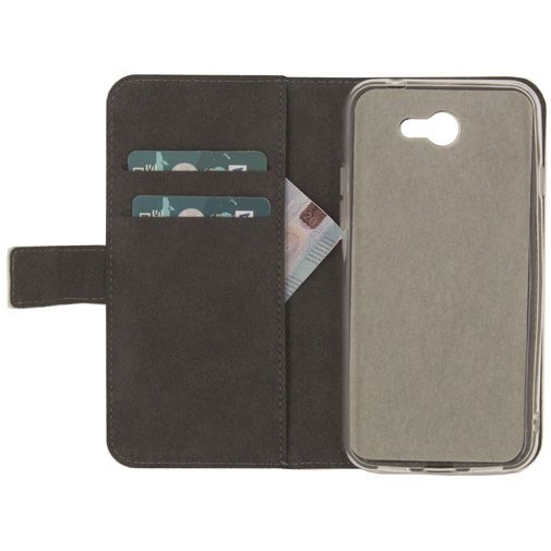Mobilize Classic Gelly Wallet Book Case White General Mobile GM6