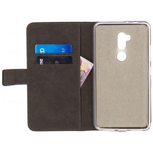 Mobilize Classic Gelly Wallet Book Case Black Alcatel A7 XL