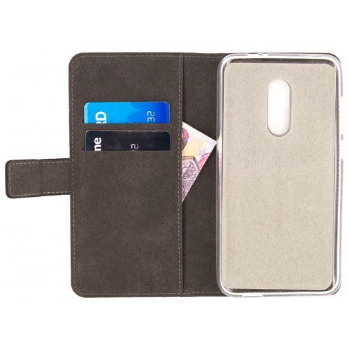 Mobilize Classic Gelly Wallet Book Case Black Alcatel A7