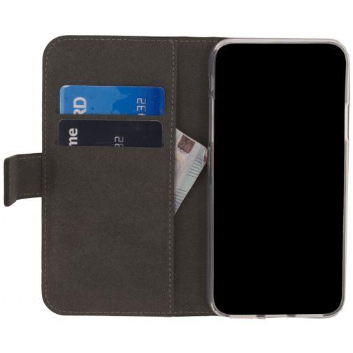 Productafbeelding van de Mobilize Classic Gelly Wallet Book Case Black Apple iPhone X/XS