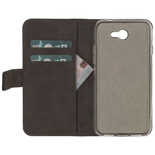 Mobilize Classic Gelly Wallet Book Case Black General Mobile GM6