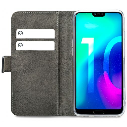 Mobilize Classic Gelly Wallet Book Case Black Honor 10